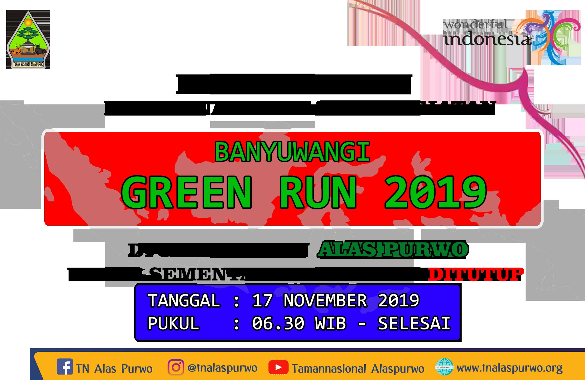 Banyuwangi Green Run 2019 Alas Purwo